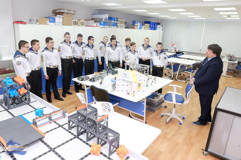 1 февраля состоялась экскурсия по детскому технопарку «Кванториум-51» для кадетов из ЗАТО Североморска