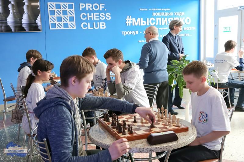 В рамках проекта «КвантоШахматы» в детском технопарке  «Кванториум-51» завершился первый этап шахматного турнира