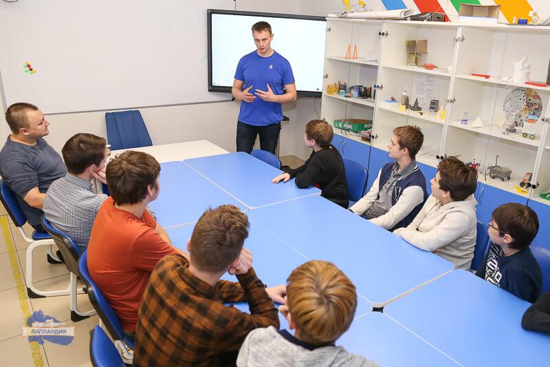 Кванторианцы встретились с разработчиком платформы для создания сайтов в рунете Nethouse Яковом Лачиным