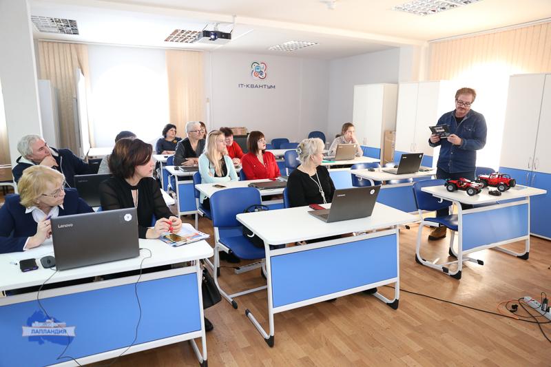 1 марта в детском технопарке «Кванториум-51» прошли творческие лаборатории для работников образования Мурманской области