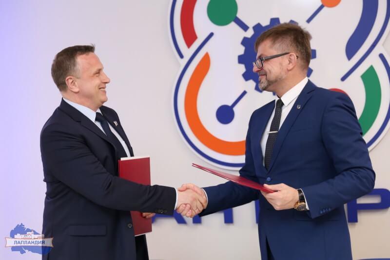 Подписано соглашение о сотрудничестве детского технопарка «Кванториум-51» и Мурманского областного клинического многопрофильного центра