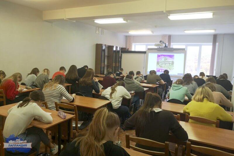 Воспитанница детского технопарка «Кванториум-51» Алина Кравченко победила во Всероссийском экологическом диктанте в Мурманской области