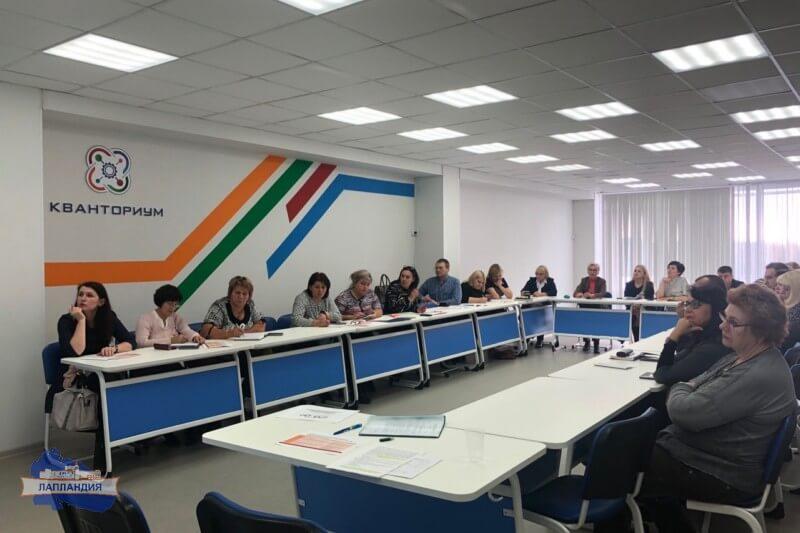 На площадке детского технопарка «Кванториум-51» состоялось совещание руководителей муниципальных координационных центров по научно-техническому творчеству, образовательной робототехнике