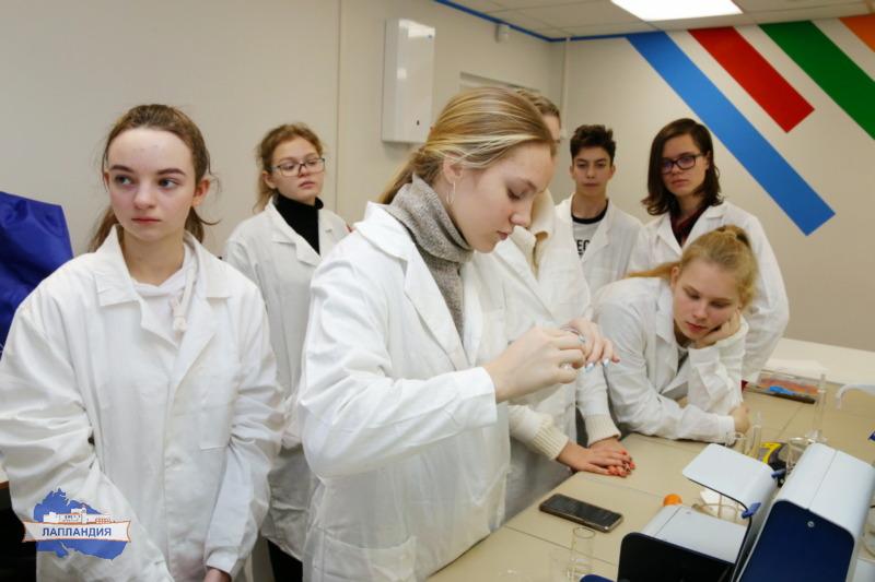 В детском технопарке «Кванториум-51» прошли занятия для учеников старших классов