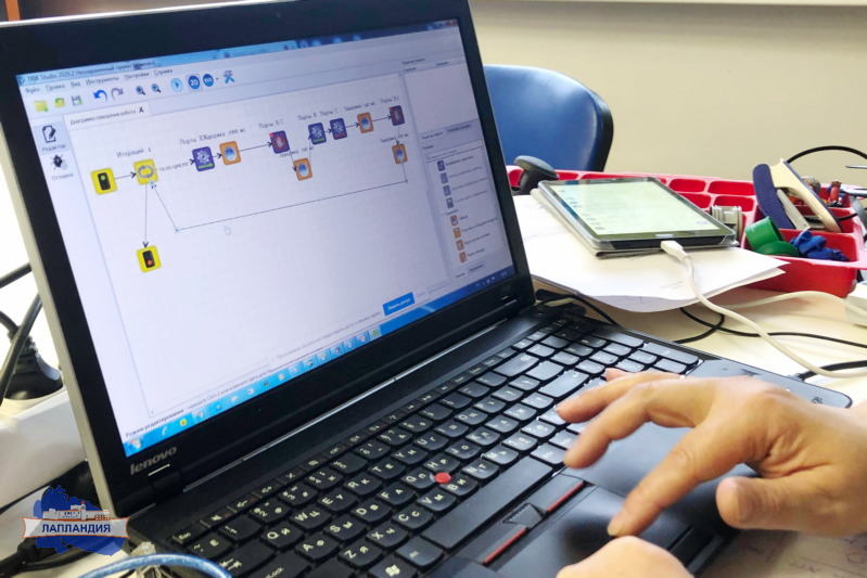 В центре «Лапландия» школьники Мурманской области проходят обучение в очно-заочной школе по стандартам подготовки ЮниорПрофи