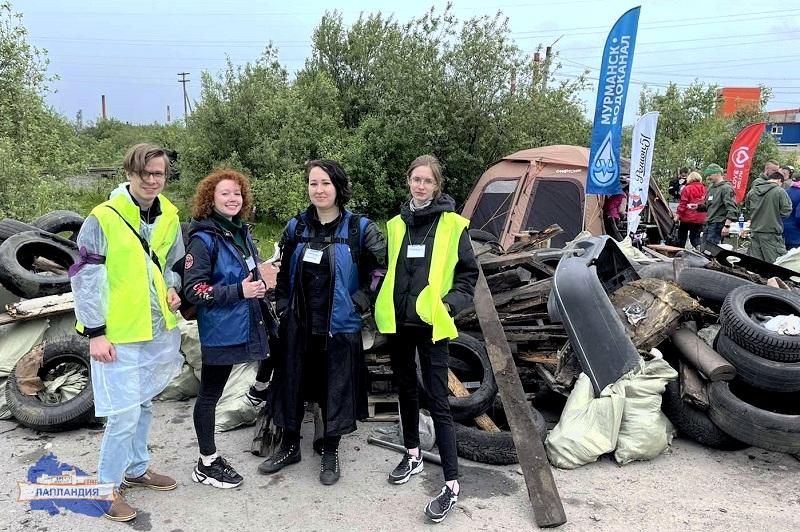 Команда педагогов детского технопарка «Кванториум-51» успешно представила центр «Лапландия» на первом в Мурманской области экомарафоне «Чистый регион»